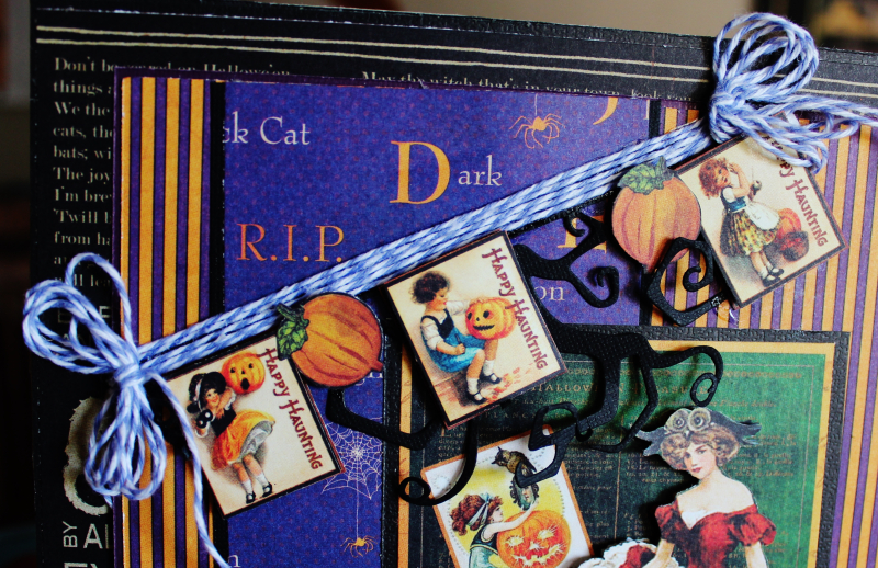 Graphic 45 Happy Haunting Pop Up Card and Box Tutorial - Pam Bray - Photo 8_1462