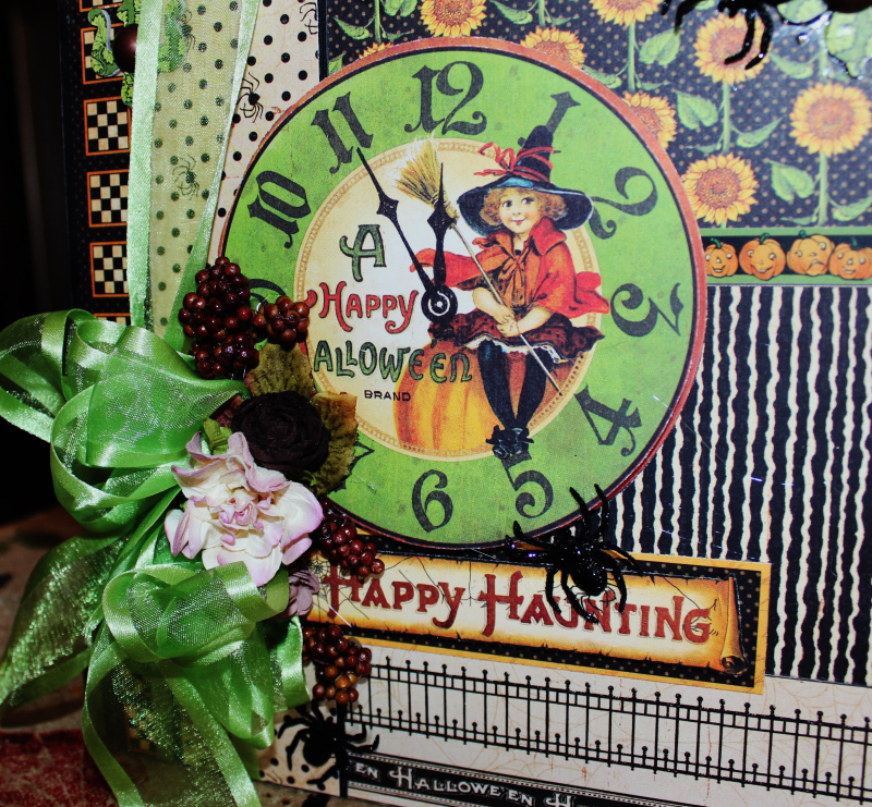 Graphic 45 Happy Haunting Pop Up Card and Box Tutorial - Pam Bray - Photo 6_1457