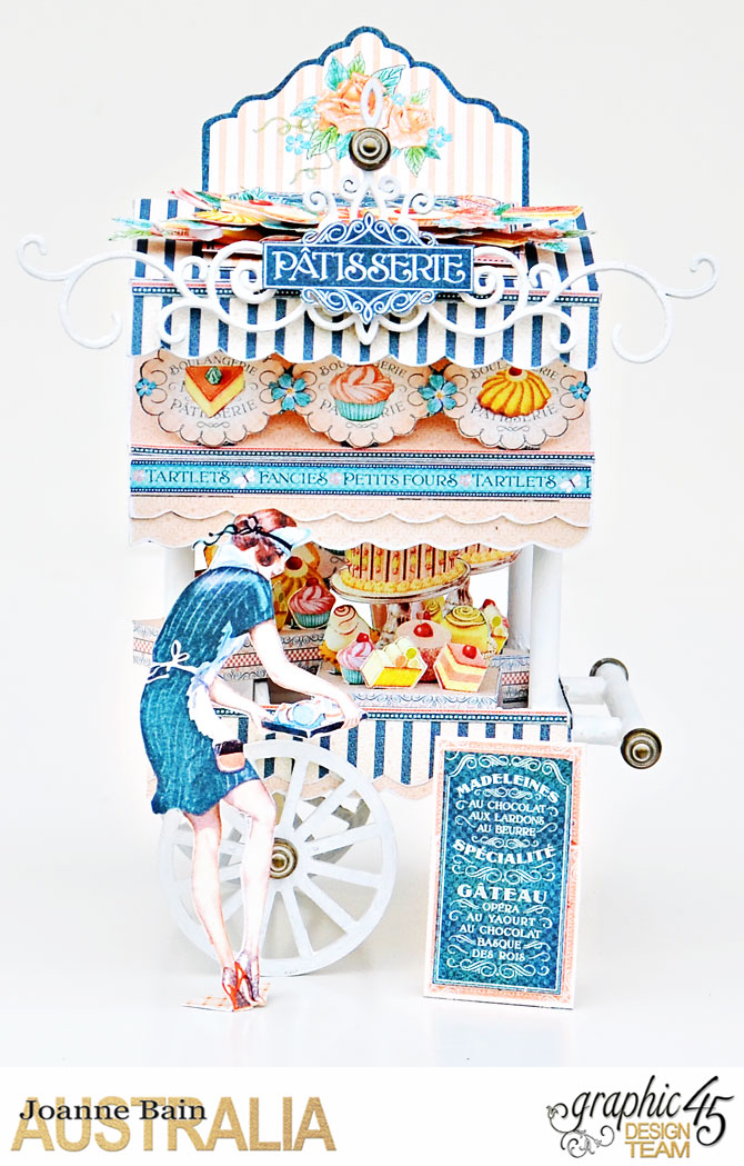 Cafe-Cart,-Cafe-Parisian,-Tutorial-By-Joanne-Bain,-Product-by-Graphic-45,-Photo-2a