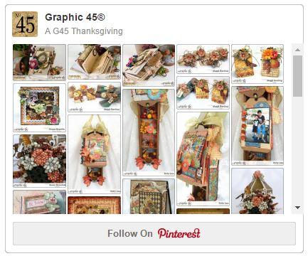 Graphic 45 Thanksgiving Pinterest Board