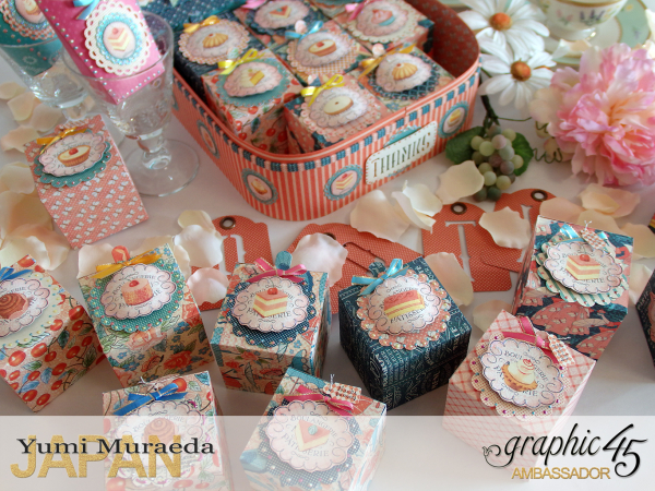 Thank you gift and Case Graphic45  Cafe Parisian  by Yumi Muraeada Product by Graphic 45 Photo6
