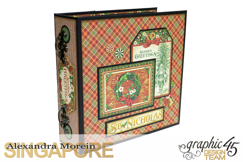St.Nicholas Candy Stand,Project by Alexandra Morein, Product by Graphic 45, Photo 9
