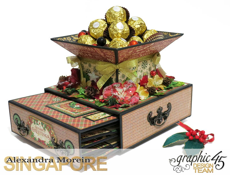 St.Nicholas Candy Stand,Project by Alexandra Morein, Product by Graphic 45, Photo 3