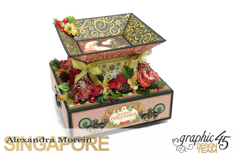 St.Nicholas Candy Stand,Project by Alexandra Morein, Product by Graphic 45, Photo 4