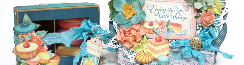 give beauty with a cafe parisian box card graphic 45