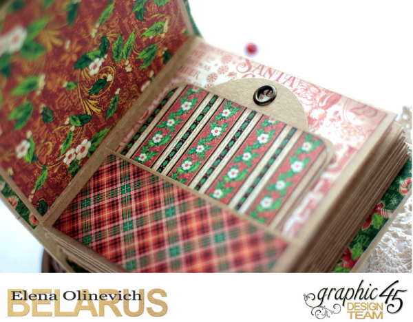 December Daily Mini Album, by Elena Olinevich, product by Graphic45, photo6