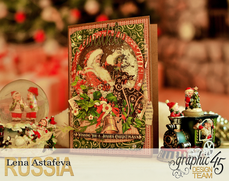 Card- St.Nicholas- turorial by Lena Astafeva-products Graphic 45 -10