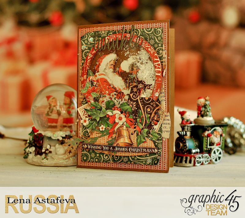 Card- St.Nicholas- turorial by Lena Astafeva-products Graphic 45 -7