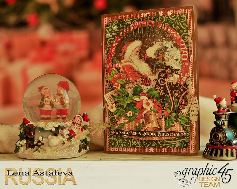 Card- St.Nicholas- turorial by Lena Astafeva-products Graphic 45 -15