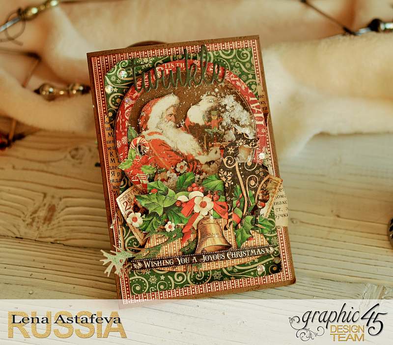 Card- St.Nicholas- turorial by Lena Astafeva-products Graphic 45 -23