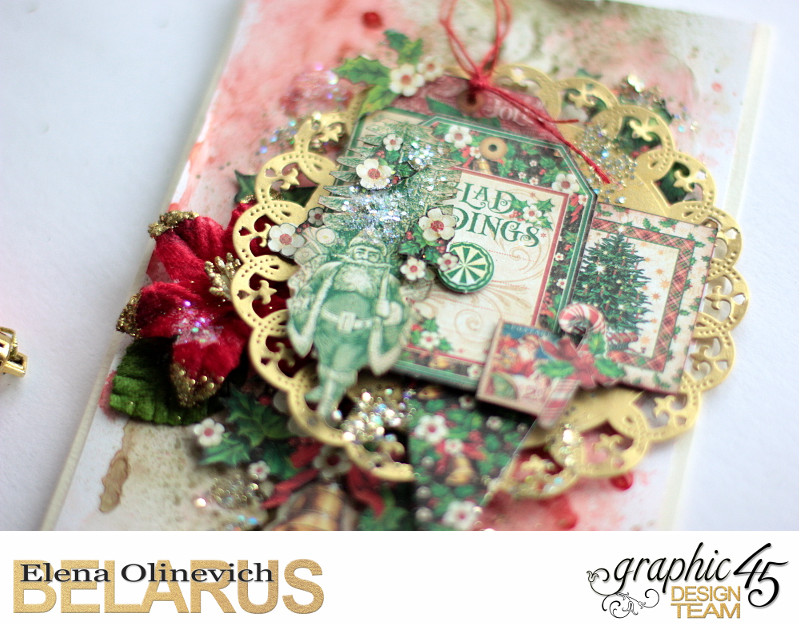 Mixed Media Christmas Card, St. Nicholas, by Elena Olinevich, Product by Graphic45, Photo_3