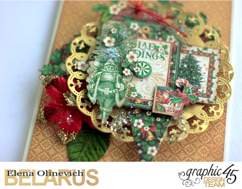 Mixed Media Christmas Card, St. Nicholas, by Elena Olinevich, Product by Graphic45, Photo_6