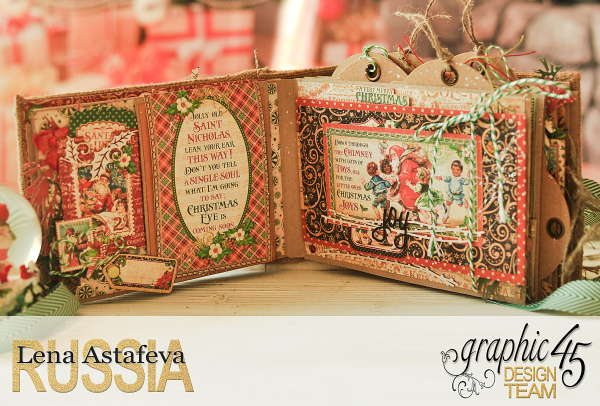 December Daily- St.Nicholas-by Len Astafeva-products Graphic 45 -116