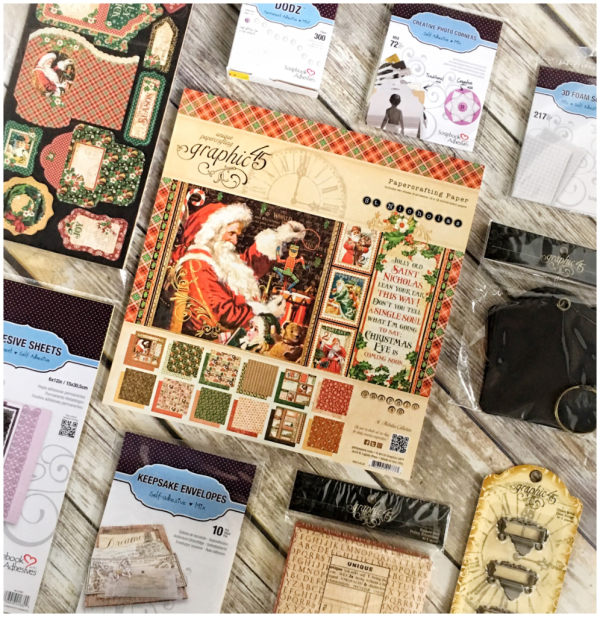 St. Nicholas & Scrapbook Adhesives Graphic 45 Prize Pack!
