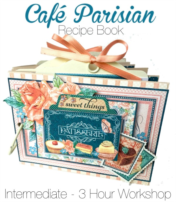 Try this Cafe Parisian Recipe Book Project Sheet