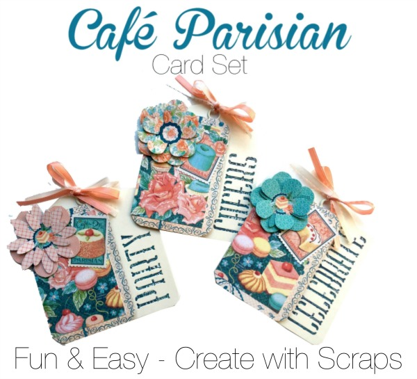 Create Cafe Parisian Cards with this Project Sheet!