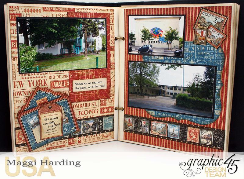Mini Euro, CityScapes, Maggi Harding, Graphic 45 (10)