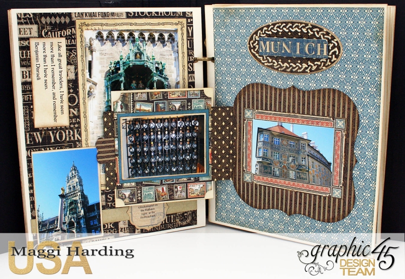 Mini Euro, CityScapes, Maggi Harding, Graphic 45 (12)