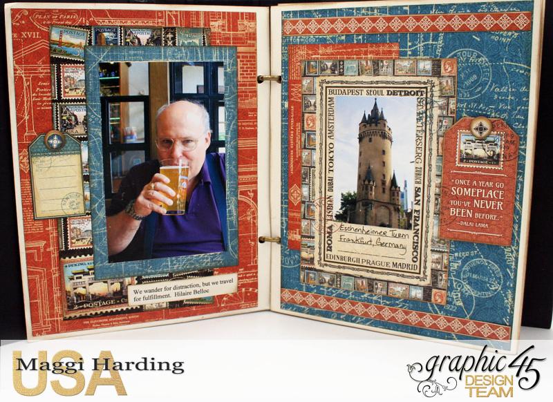 Mini Euro, CityScapes, Maggi Harding, Graphic 45 (08)
