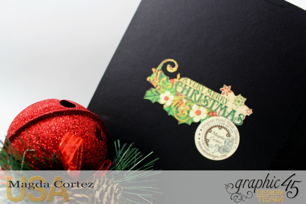 Past Christmas Mini Album, St. Nicholas, By Magda Cortez, Product By Graphic 45, Photo 14 of 14, Project with Tutorial