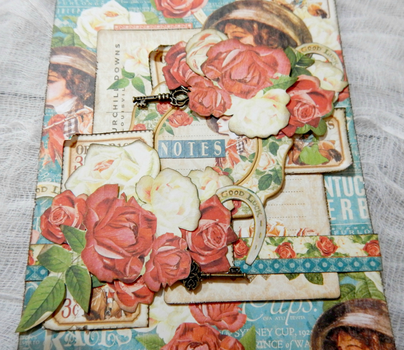 Notebooks, Off To The Races, Tutorial By Katelyn Grosart, Product By Graphic 45, Photo 4