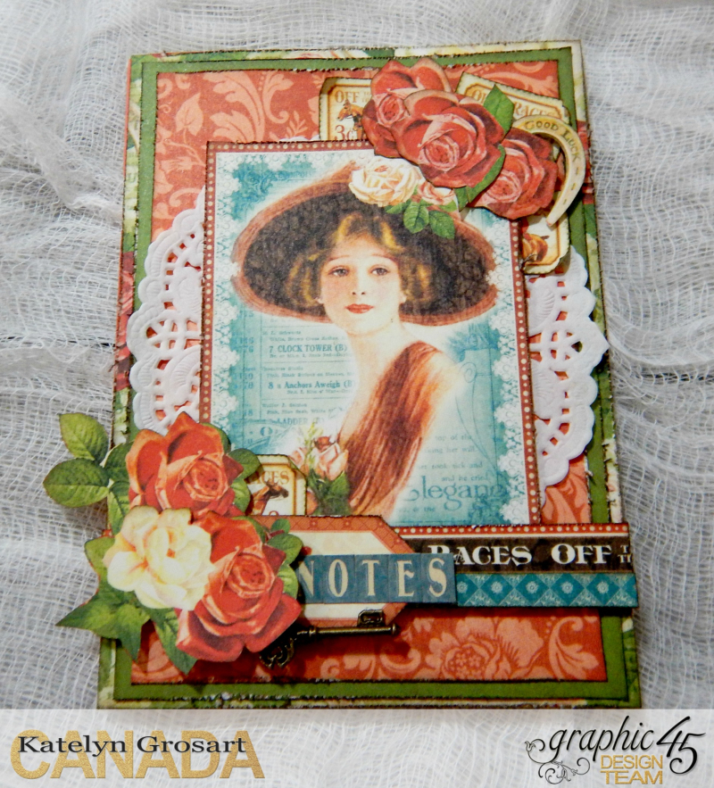 Notebooks, Off To The Races, Tutorial By Katelyn Grosart, Product By Graphic 45, Photo 6