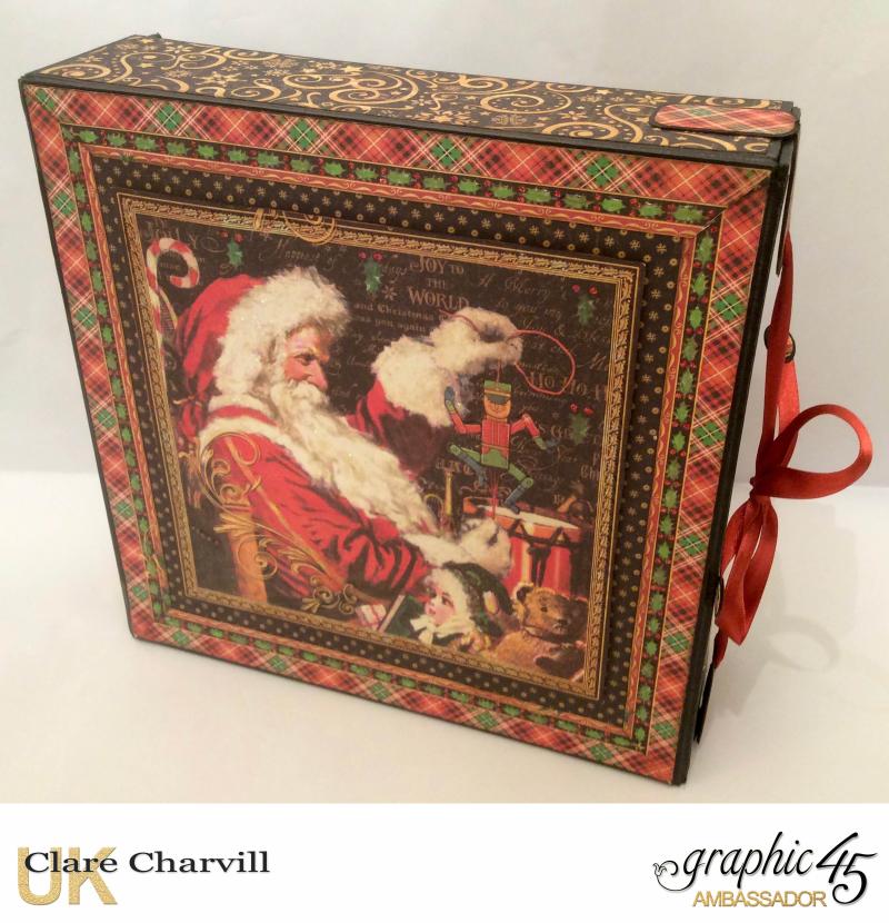 St Nicholas Album 1 Clare Charvill Graphic 45