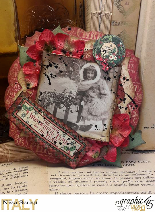 It's the most worderful time of the year , Saint Nicholas collection, card by Nico Scrap, Product by Graphic 45, Photo 1