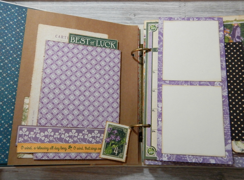 2017 Scrapbook Planner, Children's Hour, By Katelyn Grosart, Product By Graphic 45, Photo 23