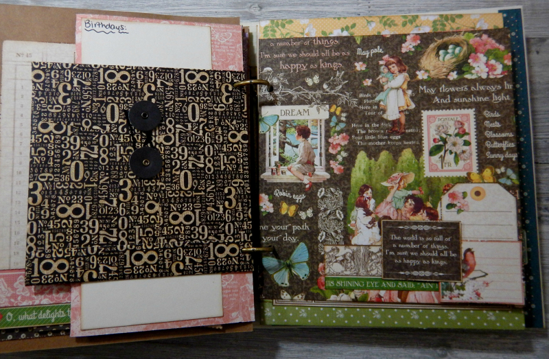 2017 Scrapbook Planner, Children's Hour, By Katelyn Grosart, Product By Graphic 45, Photo 40