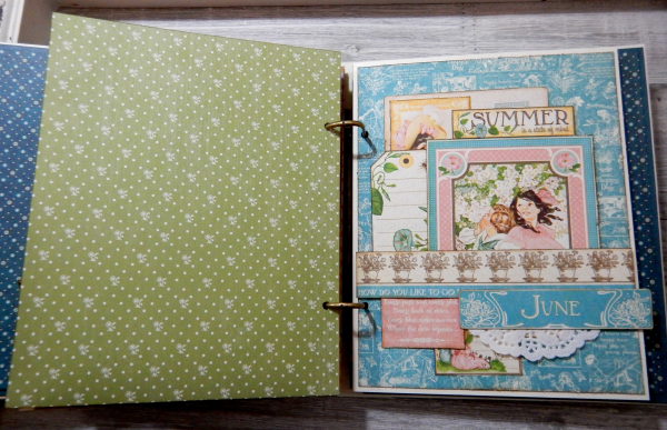 2017 Scrapbook Planner, Children's Hour, By Katelyn Grosart, Product By Graphic 45, Photo 42