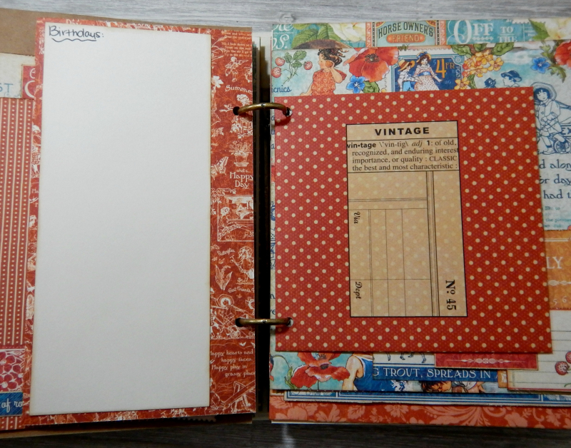 2017 Scrapbook Planner, Children's Hour, By Katelyn Grosart, Product By Graphic 45, Photo 53