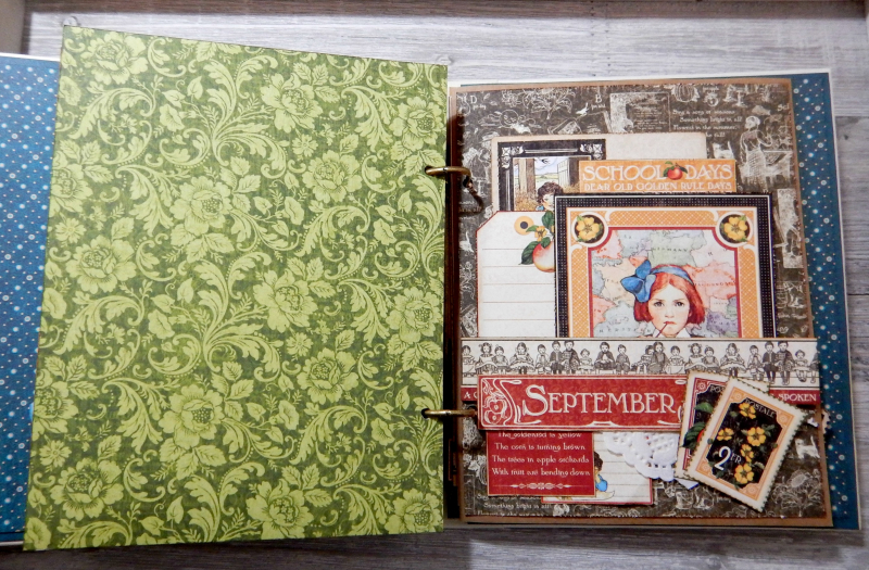 2017 Scrapbook Planner, Children's Hour, By Katelyn Grosart, Product By Graphic 45, Photo 63
