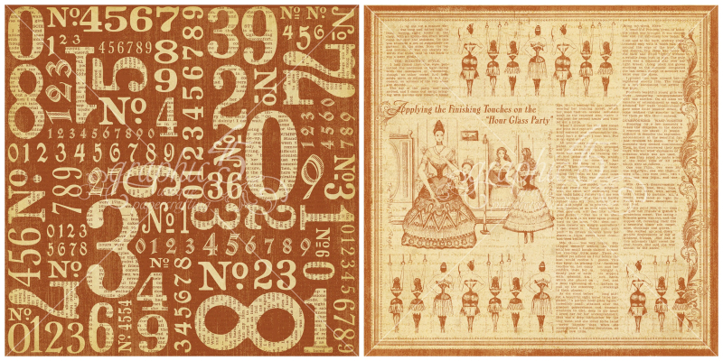 3 - Counting Down, a page from Olde Curiosity Shoppe, a Deluxe Collector's Edition from Graphic 45!