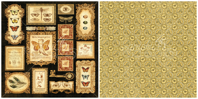6 - Parlor Wall, a page from Olde Curiosity Shoppe, a Deluxe Collector's Edition from Graphic 45!