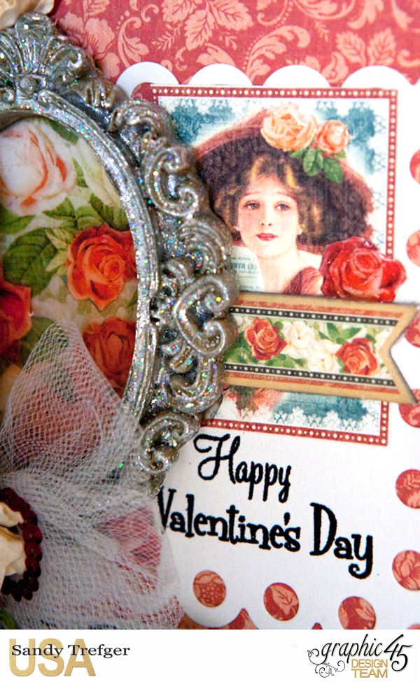 Valentine Card, Off to the Races, by Sandy Trefger, Product by Graphic 45, Photo 002