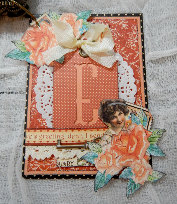 LOVE Mini Album, Cafe Parisian-Children's Hour & Place In Time DCE, By Katelyn Grosart, Product By Graphic 45, Photo 14
