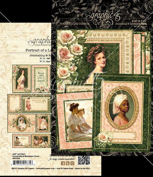 Portrait of a Lady Journaling & Ephemera Cards