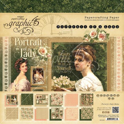 Portrait of a Lady 8x8 Paper Pad