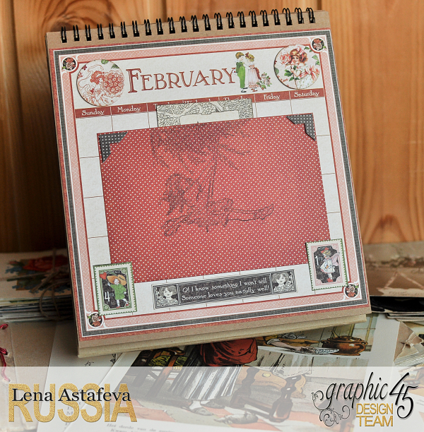 Calendar- Children's hour- by Lena Astafeva-products by Graphic 45 (3 из 26)