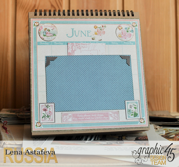 Calendar- Children's hour- by Lena Astafeva-products by Graphic 45 (11 из 26)