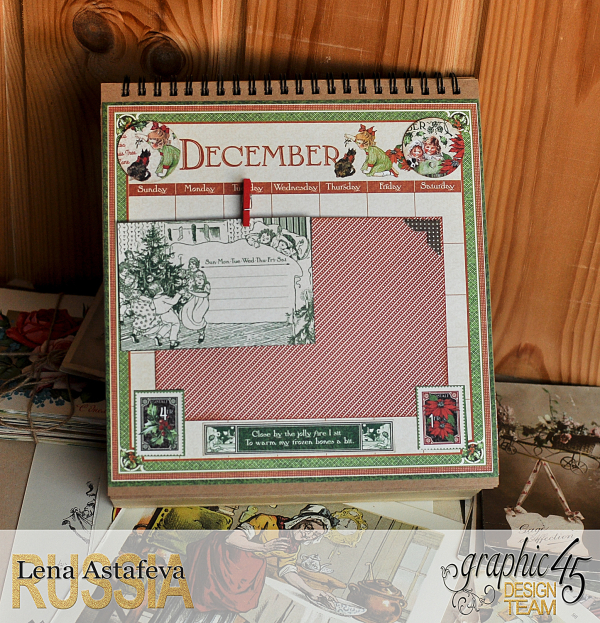 Calendar- Children's hour- by Lena Astafeva-products by Graphic 45 (26 из 26)