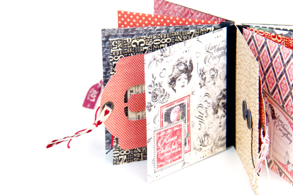 Love Album Policy Envelopes Tutorial by Marina Blaukitchen Product by Graphic 45 photo 10
