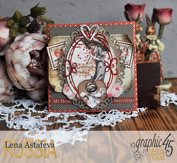 Envelope- Place in time- by Lena Astafeva-products by Graphic 45 (1 из 15)