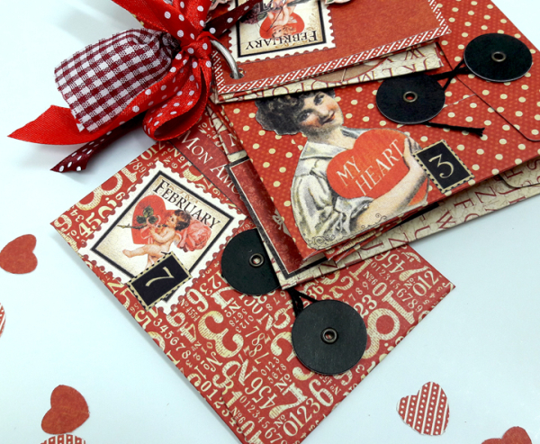 Love Notes Mini Album, Place in Time, by Einat Kessler, product by Graphic 45, photo 1