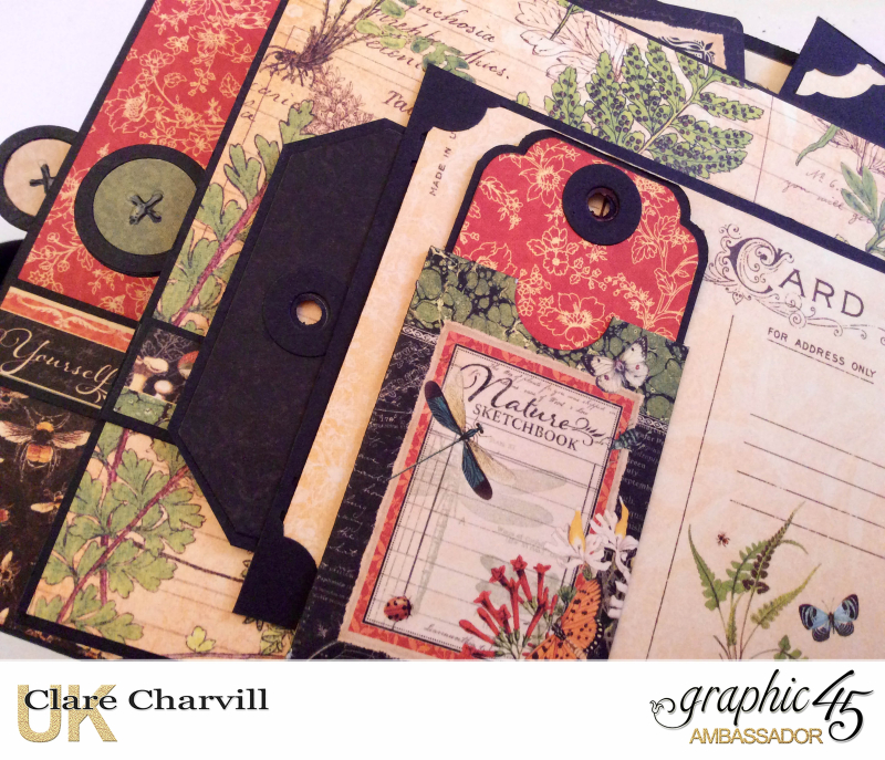 Nature Sketchbook Album H Clare Charvill Graphic 45