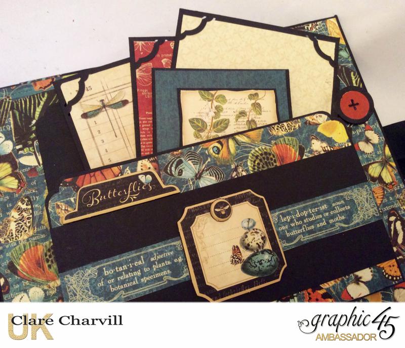 Nature Sketchbook Album I Clare Charvill Graphic 45