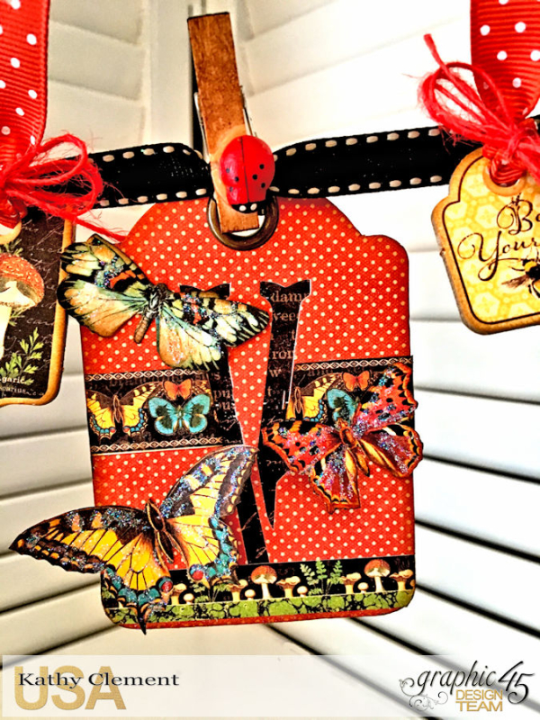 Butterfly Kisses ATC Banner Tutorial, Nature Sketchbook, by Kathy Clement, Photo 5
