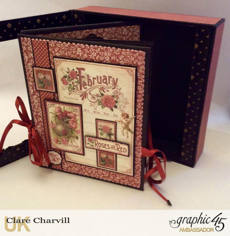 Vintage Valentine Album in a Box 4 Clare Charvill Graphic 45