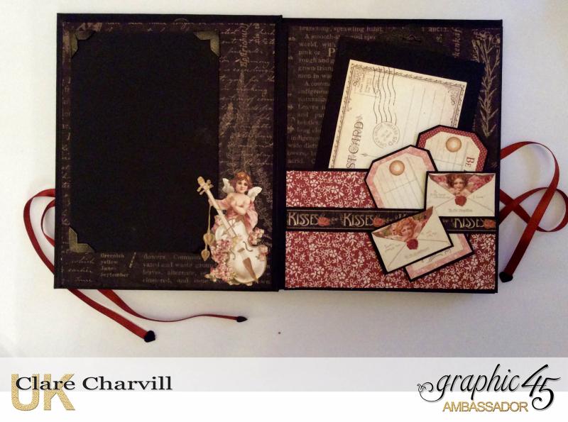 Vintage Valentine Album in a Box 7 Clare Charvill Graphic 45